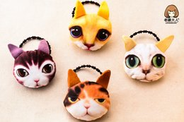 Wholesale Korean Hair Brooches - 2016 Korean version of the new children hairpin handmade baby meow Star brooch hairpin hair rope Free shipping