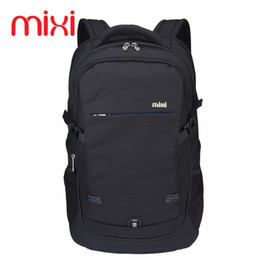Wholesale Mini Pocket Notebook - Wholesale- Mixi 2017 Durable Laptop Backpack Business Notebook Backpack 35L Women Men Travel Rucksack Daily Pack