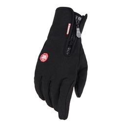 Wholesale Leather Cashmere Touch Screen Gloves - 2016 High Quality Brand Touch Screen Full Finger Soft Windstopper Gloves Warm Waterpoof Winter Glove Thermal Mittens Z-2411