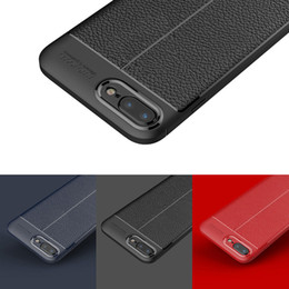 Wholesale Soft Focus - New Hot Silicone Soft TPU Rubber Gel PU Leather Back Cover Effect Auto Focus Case for Apple iPhone X 10 8 7 6s Samsung Galaxy S8 plus Note 8
