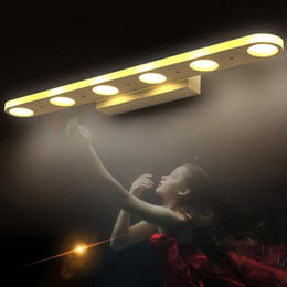 Sconcis de parede de vaidade on-line-Criativo casa de banho vaidade levou luz led espelho luzes modernas lâmpadas de parede banheiro vestido de sala de make up bathroom lighting wall sconces lâmpada