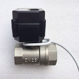 Wholesale Stainless Electric Ball Valve - Wholesale price ,BSP thread Motorized Ball Valve 2 way G1 2 DN15 (reduce port), electric ball valve, Stainless steel motorized valve