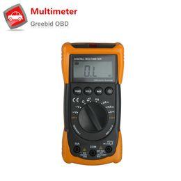 Wholesale Testers Voltage Ac Dc - Wholesale-New MS8233C Digital Multimeter Backlight Voltage Detector AC DC Digital Multimeter Tester LCD Digital Multimeter