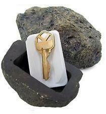 Casi di roccia online-Key Box Rock Nascosto Nascosto In Pietra Sicurezza Archiviazione sicura Nascondere Giardino Esterno Multi Funzione Creativo Decorare Case Vendita calda 9hl J