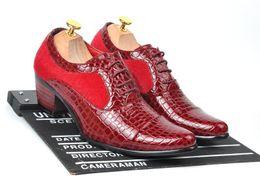 Wholesale Low Cut Leather Pumps - 2016 freeshipping men's leather shoes high heels fashion shoes men's shoes Metrosexual European version of low cuts shoes M084