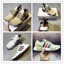 Wholesale Hot Selling Summer Fashion - 2017 Hot SELL Fashion Sneakersnstuff NMD Datamosh Pack Collection R1 Primeknit Runner NMD R1 PK Tri-Color Pack Men Womens Shoes Size 36-45