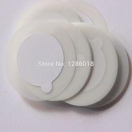 Wholesale Eyelash Glue Stone - Wholesale-Disposable Eyelash glue holder Pallet Easy helpful Eyelash Extension glue pads stand on eyelash jade stone