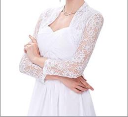 Wholesale Long Bolero For Women - Hot selling Fashion Style Long Sleeve Accessories Bridal Wraps Jackets Shrug Bolero for Women Lace Crochet