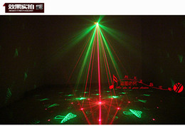 Wholesale Twinkling Party Disco Light - Remote control Twinkling Firefly Laser Light For Party Red and Green disco dj RG Mini firefly KTV party stage laser light