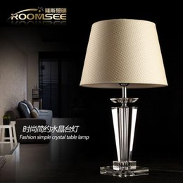 Table Lamp Suppliers: Crystal table lamp modern brief bedside lamp decoration table lamp led table  lamp 160311# from dropshipping suppliers,Lighting
