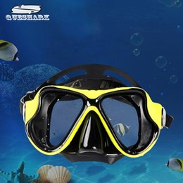 Wholesale Fishing Equipment Wholesalers - Wholesale- 2017 New Professional Scuba Snorkeling Diving Mask Anti-Fog Swimming Eyewear Goggles Glasses Set Silicone Fishing Pool Equipment