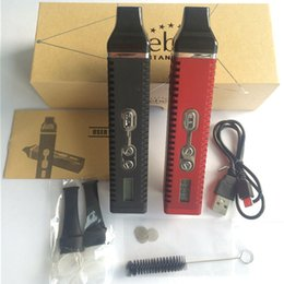 Wholesale Easy Start - Titan 2 Electronic Cigarettes Kits with Rechargeable battery Herbal Vaporizer start kit dry herb vaporizer for easy vape