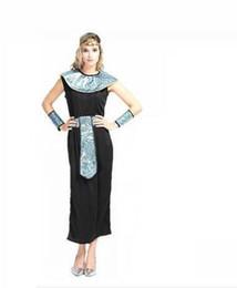 Traje faraó, rei on-line-Cleópatra egípcia Faraó Rei Homens Adultos Trajes de Halloween Partido Casal Roupas Mulheres Extravagantes Vestido Exótico Partido Masquerade