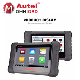 Wholesale Injector For Bmw - AUTEL MaxiDAS DS808 KIT Tablet Diagnostic Tool Support Injector & Key Coding Better Than Autel Maxidas DS708 Full System Diagnosis Scanner