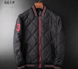 Wholesale Knitting Jackets Free - Free shipping Men's POLO fashionable eiderdown cotton-padded jacket Sleeveless vest Brand ma3 jia3 coat Men's super light feather jacket