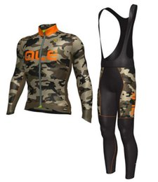 Wholesale Tights Bike Orange Men - 2017 ALE High quality outdoor bike jerseys and bib tights   short drying materials of Italy ink three-dimensional gel pad