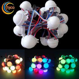 2019 lampade a bolle d'acqua Natale 30 millimetri LED Light Point luci Pixel Light Party le luci di Natale Lattea colori impermeabile per uso esterno trasporto libero