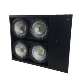Wholesale Matrix Sounds - Theater Lighting COB LED Flood Light 4eye 100w Led Matrix Blinder Light Led Wash Audience Lights