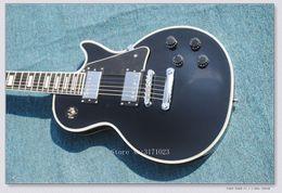 China gold geschäfte online-schwarz Custom Shop 1958 Ebenholz Griffbrett E-Gitarre Gold Hardware chinesische China Gitarre