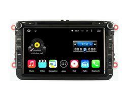 Wholesale Vw Golf Car Stereo Phone - 8'' Quad Core Android 5.1.1 Car DVD Radio For VW PASSAT 2010-2011 GOLF(MK5)2003-2009 GOLF(MK6)2009-2011 POLO(MK5)2010-2010