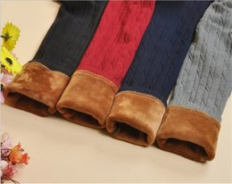 Wholesale Girl Red Tights Tutu - Children Winter Legging With Velvet For Girls Soft Pants Baby Girl Pants Tutu Kids Leggings Free Shipping 01