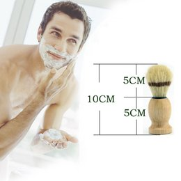 Wholesale Shave Brushes - 2016 Branded Man Face Cleaning Brush Black Handle Superfine Pure Blaireau Shaving Beard Brush Shaving Brush Male Cleaning Tool F543