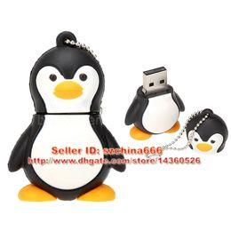 Argentina Penguin Cartoon USB 2.0 Memory Stick Flash Pen Drives Regalo USB Flash Disk Thumbdrive 1GB 2GB 4GB 8GB 16GB + Caja Suministro