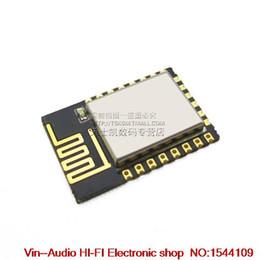 Wholesale Ultrasonic Sensor Modules - Wholesale-10pcs ESP8266 serial WIFI industry milestone, wireless WIFI module Bluetooth model: ESP-12E free shipping