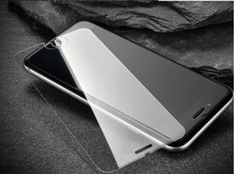Wholesale Glass Top Protector - for iphone X 8 plus iphone 7 plus 6 6S Top Quality Tempered Glass Film Screen Protector Anti-Scratch 9H Hardness 2.5D 0.26MM free DHL