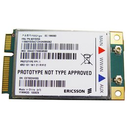 Deutschland Großhandels-Entsperrt für Ericsson F5521gw drahtlose 3G Modems WCDMA HSPA Mini PCI-E Karte für IBM lenovo X220 T420 W520 T520 E120 FRU: 60Y3255 cheap laptop wireless mini pci card Versorgung