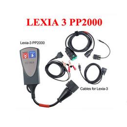 Wholesale Scanner Lexia Citroen Peugeot - 2016 Lexia 3 Diagnostic Tool lexia3 PP2000 diagbox V7.65 software V48 Car scanner For Citroen for Peugeot Professional