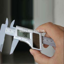 Wholesale Ep Solar - Wholesale-0-150MM 6inch Fiber Solar Digital Caliper solar vernier caliper micromter gauge For ON Off Road EP GP RC Car