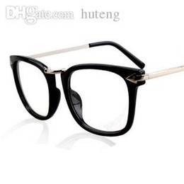 Wholesale Big Beautiful Men - HOT SALE-Retro Vintage Prescription Eyeglasses Frames Women Men eyewear Designer Fake Glasses Beautiful Big Frames Glasses Free Shipping