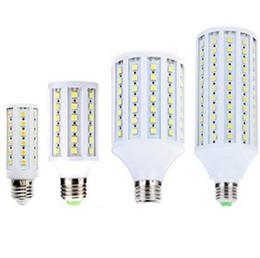 Wholesale 12 Volt Cooler Warmer - 12V LED Lampada E27 12W 15W 18W 20W 6W 8W 5050 SMD Corn Bulbs Bombilla Warm white Cool white for Indoor Lighting Spotlights DC 12 Volts CE