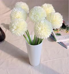 Wholesale Decoration Display Ball - Green ball onion Artificial Hydrangea Flower small green onion ball home decoration flowers New arrival SP016