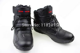 Wholesale Bike Downhill - free shipping 2015 motorcycle boots dirt Bike Racing Boots Motocross downhill Motorbike boots Knight riding boots Gears