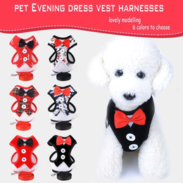 Wholesale Basic Fabric - Recommend All Seasons Breathable Fabrics Dog Collar Evening Dresses Dog Harness For Small Medium Dogs Pets Accessories