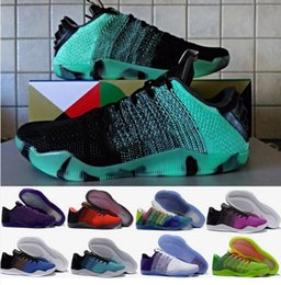 Wholesale Elite Football Boots - 2016 Kobe XI Elite Men's Basketball Shoes Top Quality Sports Outdoor Shoes Kobe 11 Low Basketball Shoes with Boxes