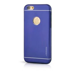 Wholesale New Aluminum Metal Hard Case - New MOTOMO Hybrid 2 in 1 Metal Aluminum TPU Hard Back Cover for iPhone5S 6 6S Plus Samsung S7 EDGE J510 NOTE5 A310 G530 without Ring Stand
