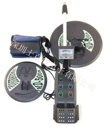 Wholesale Earth Metal Detector - Wholesale-High Deep Earth Underground Metal Detector MD-5008 Best Ground Search Metal Detector Max detection depth3.5m with Two Coilsr spy