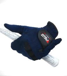 Wholesale Men Glove Wholesale - Summer Mens Golf Gloves Right Left Hand Golf Gloves Sweat Absorbent Microfiber Cloth Soft Breathable Abrasion Gloves 2513001