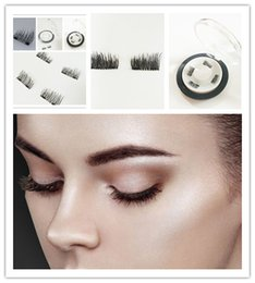 Wholesale Three Dimensional Magnets - 2017 latest 3D magnet false eyelash suction stone mascara magnetic magnetic buckle without glue three-dimensional multi-layer natural thick