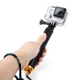 Wholesale Handheld Flexible Camera - Tripod Accessories Tripods Gopro Accessories Aluminium Handheld Monopod Flexible Camera Tripod For Gopro 3 4 3