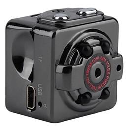 Wholesale Smallest Portable Camera - HD 1080P 720P Sport Spy Mini Camera SQ8 Mini DV Voice&Video Recorder Infrared Night Vision Digital Smallest Cam Portable Camcorder