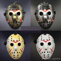Wholesale Erythema Mask - New Halloween Freddy VS Jason Mask Killer Mask Party Masks for Halloween Festival Cosplay Erythema Styles 11 style Free shipping E1277