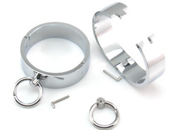 Wholesale Male Bondage Cuffs - New Male Metal Wrist Cuffs Restraints Bondage Slave In Adult Games Fetish Sex Toys For Men