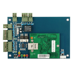 Wholesale Time Attendance Door - Wiegand Single door 2 Reader network 12V Professional RFID IC Time Attendance Access Control board TCP IP