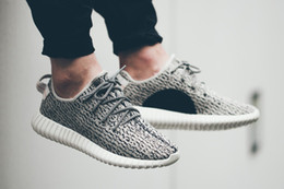 Wholesale Dive Quality - 350 Boost Moonrock Oxford Tan Pirate Black Turtle Dove Sneakers High Quality,Free shipping