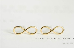 Wholesale Earring Infinity - In 2016, infinity compound new fashion women's earrings lovely earrings wholesale free shipping best gift