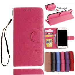 Wholesale Book Holder Phone Case - Wallet PU Leather Case Flip Book Phone Bag Cover With Card Holder Shell for iphone 5 5C 6 6S Plus 7 7plus